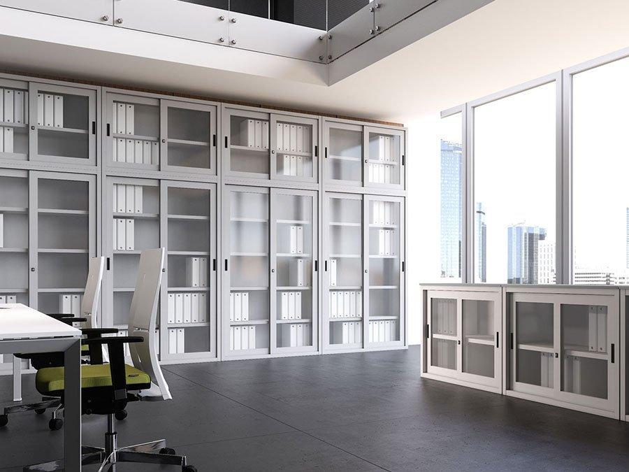 Armadi e contenitori archivio da ufficio con serratura