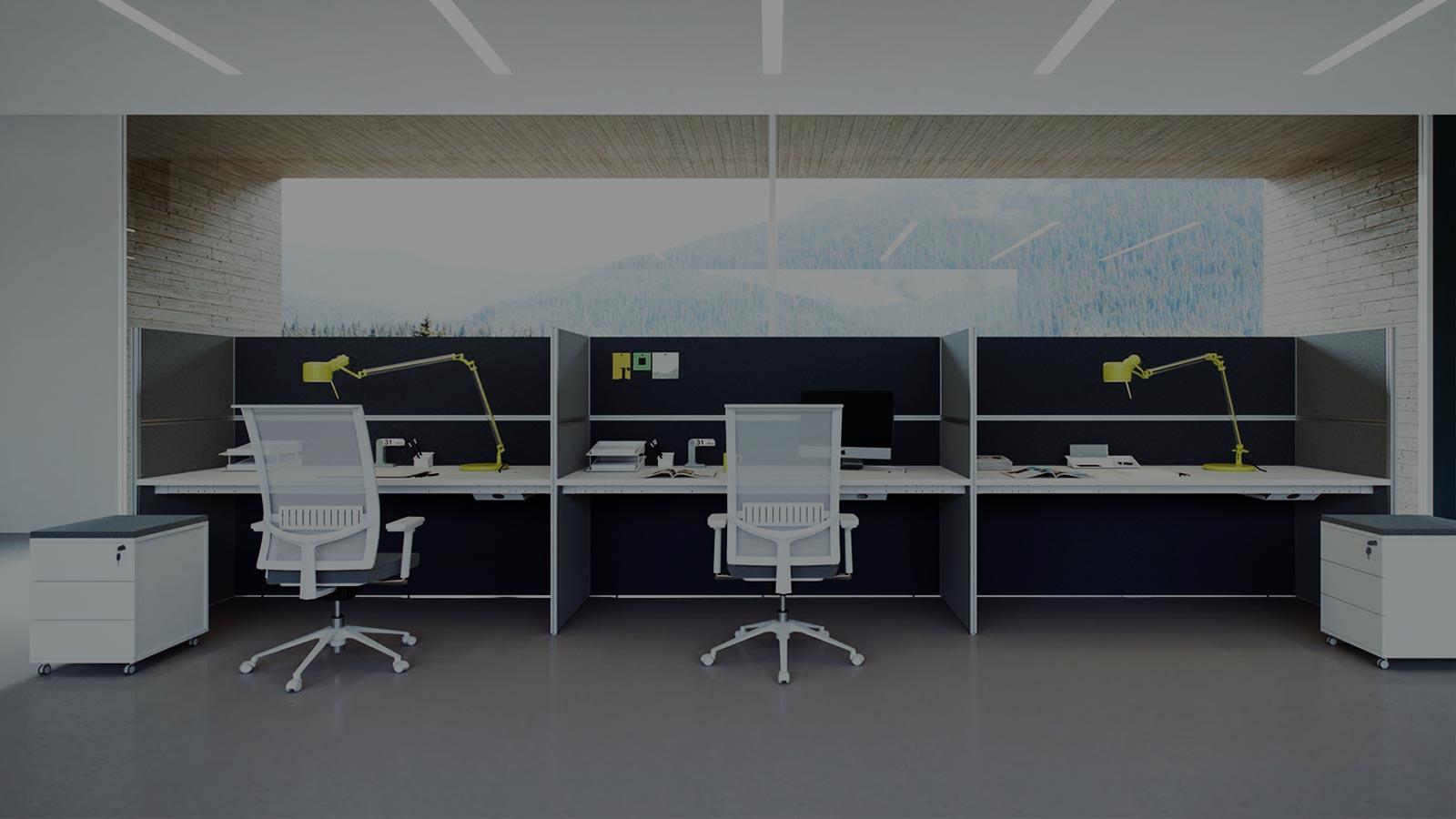 scrivanie operative e tecniche per l 39 arredo ufficio areanova ForScrivanie Operative Ufficio