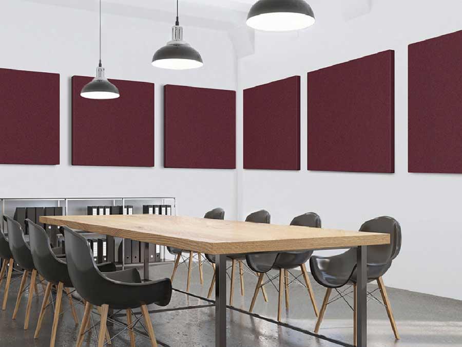 Pannelli acustico sale riunioni insonorizzazione ambienti uffici arredo