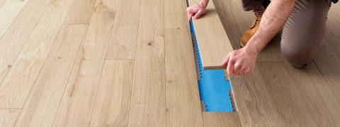 Oplà, pavimento posa veloce in legno