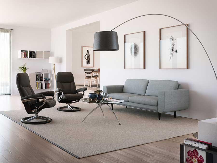 soggiorno stressless poltrone e divani