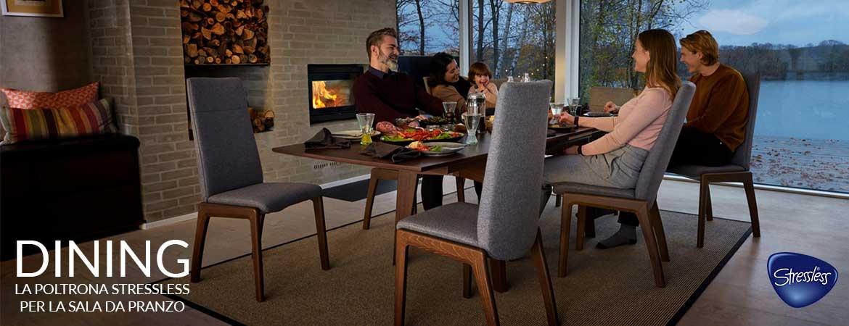 stressless dining sedia poltrona sala da pranzo areanova rivenditori autorizzat