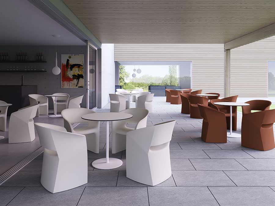 Sedie contract residence albergo ristorante