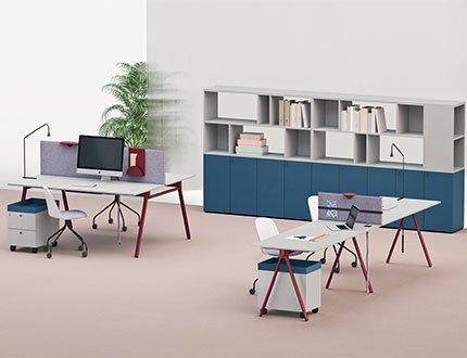 working area operativa direzionale tavoli scrivanie